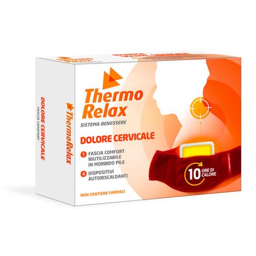 Ceinture cervical + 4 dispositifs thérapeutiques auto-chauffants