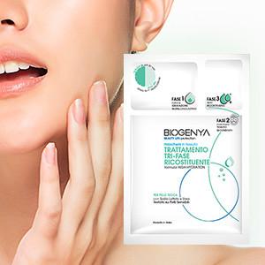 Biogenya - Trattamenti Viso efficaci e rapidi e maschere dermo-cosmetiche con azione intensiva pratiche da usare. Migliorano visibilmente la salute della tua pelle