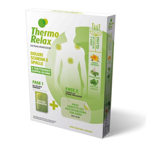 ThermoRelax Phyto Gel DOULEURS DOS ET ÉPAULES étui 6 traitements