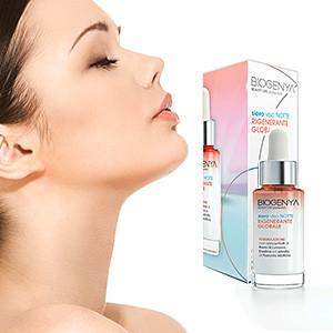 Biogenya - Sieri viso esclusivi ad alta efficacia cosmetica per il benessere della pelle, azione potenziata ed express per risultati visibili dalle prime applicazioni