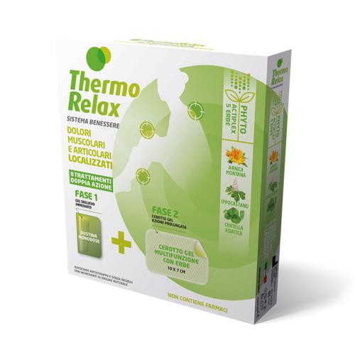 ThermoRelax Phyto Gel DOULEURS LOCALISÉES étui 8 traitements